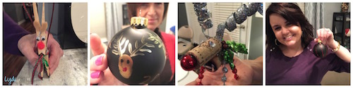 DIY ornaments, holiday party ideas, holiday crafts