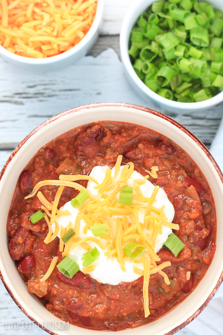 The Best Ever Chili Recipe Lydi Out Loud