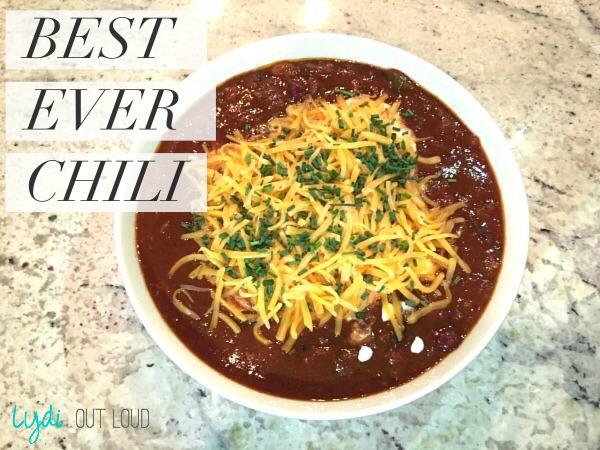 chili, chili recipe, soups