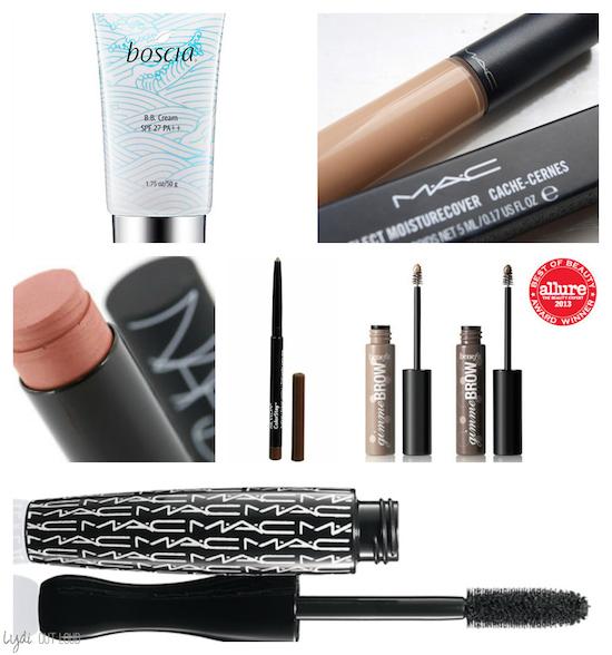 beauty resolutions, quick makeup, mac, nars, benefit, makeup must haves
