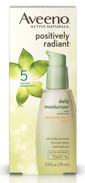 beauty resolutions, moisturizer with spf, aveeno, skin care