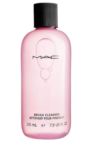 beauty resolutions, mac, makeup brushes, mac brushes, brush cleanser