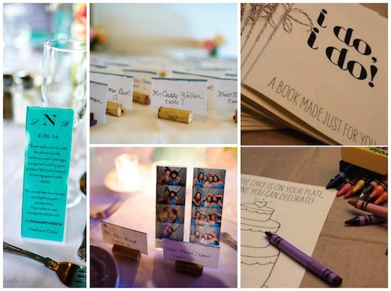 diy wedding favors, diy place card holders, diy wedding, wedding crafts, wedding decor