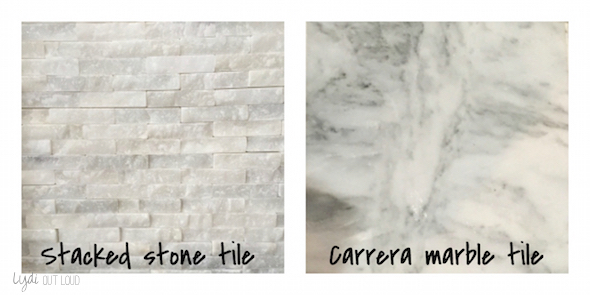 fireplace makeover, mantle decor, home decor, stacked stone tile, carerra marble