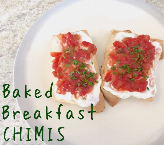 Baked Breakfast: Baked Breakfast Chimis