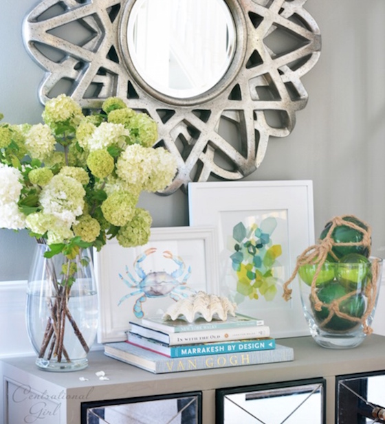 Entryway table decor inspiration lydi out loud for Console table decor ideas