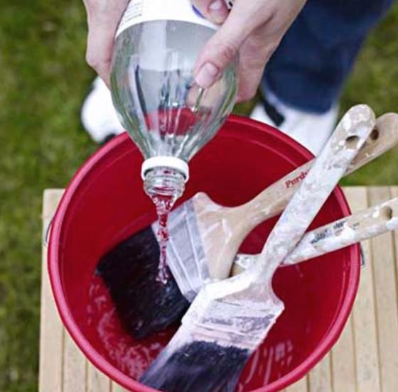 cleaning tips, vinegar, painting tips, painting hacks, DIY