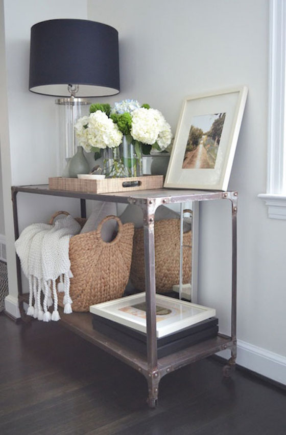 Foyer Table Decor : Entryway table decor inspiration lydi out loud