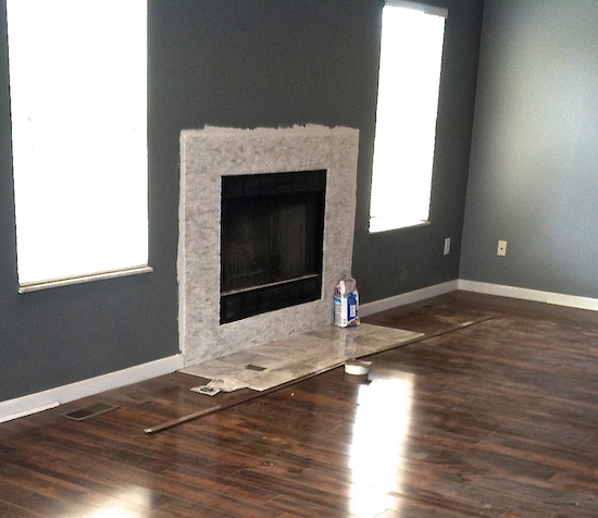 fireplace makeover, before and after, home remodeling, fireplace decor, home decor