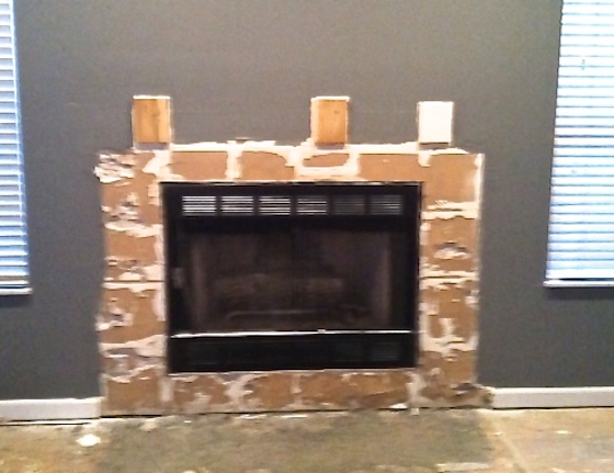 fireplace makeover, before and afters, remodeling, home decor, fireplace decor, remodeling