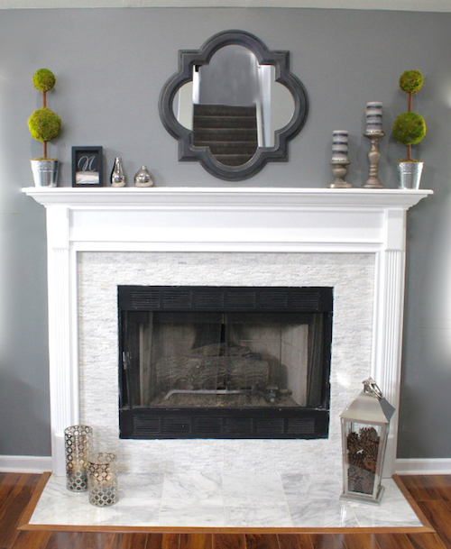 Fireplace Makeover Lydi Out Loud