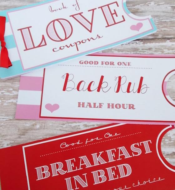 valentine's gift ideas, i heart nap time, love coupons, gift ideas, Valentine's Day