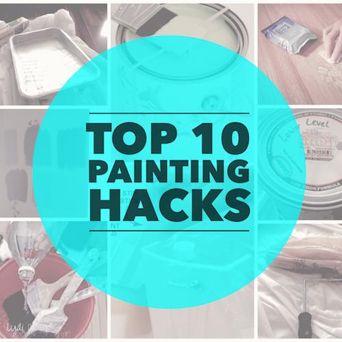 Top DIY Painting Hacks Lydi Out Loud - Painting hacks