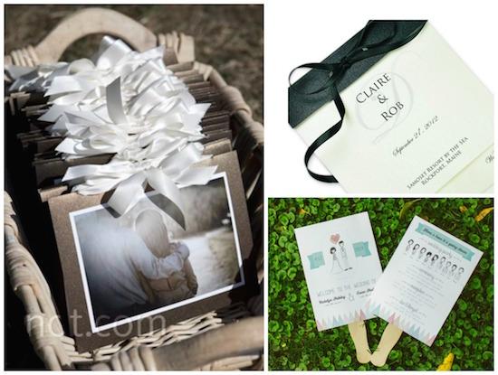 diy wedding programs, budget wedding, wedding crafts