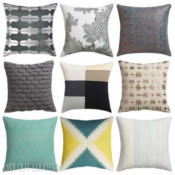 How To Decorate With Mixed Print Throw Pillows Amazing Cb2 Decorative Pillows