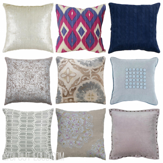 Beau Home Decoratoru0027s Collection Throw Pillows