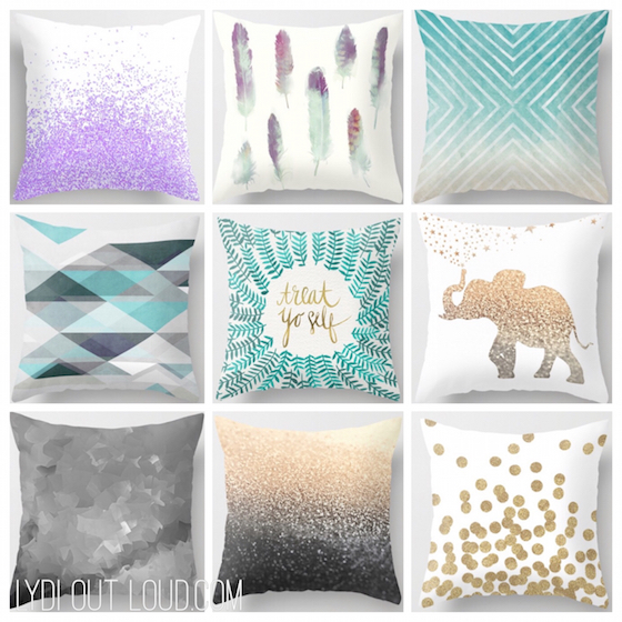 Society 6 Throw Pillows