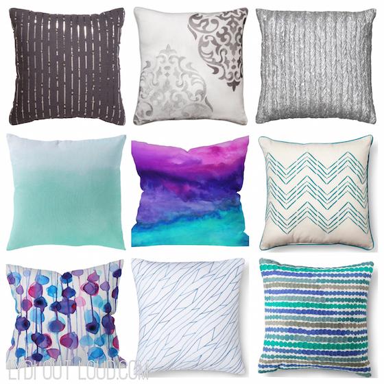 Target Mixed Throw Pillows