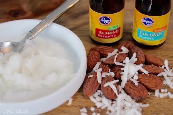 Almond Joy DIY Lip Scrub