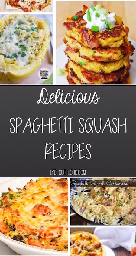 The most amazing spaghetti squash recipes!