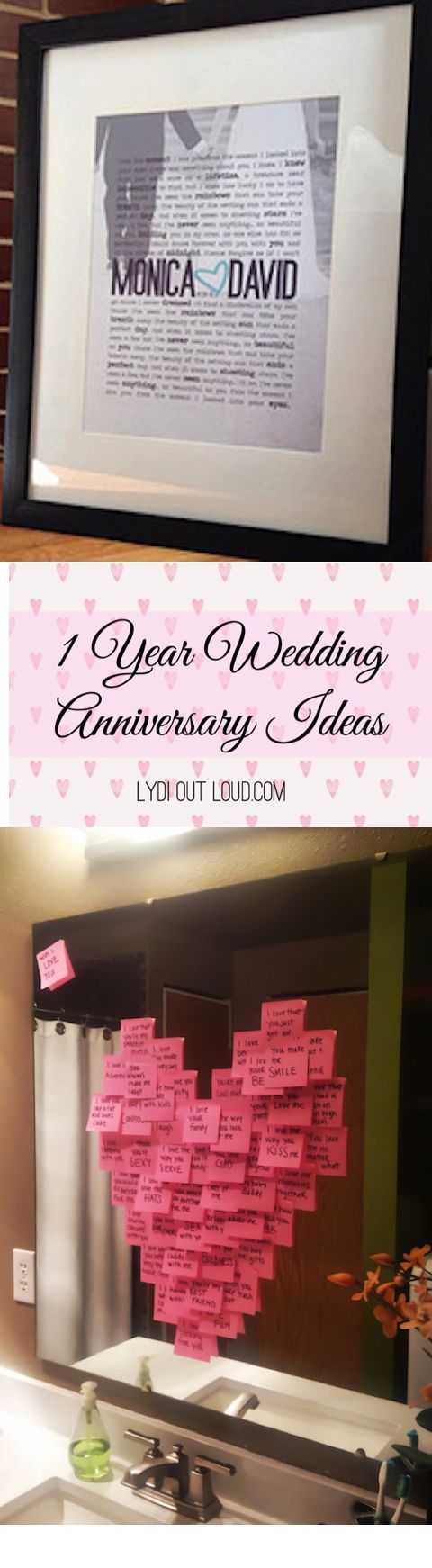 1 Year Wedding Anniversary Ideas Paper Gift Anniversarygifts 1yearanniversarygifts 1yearweddinganniversary
