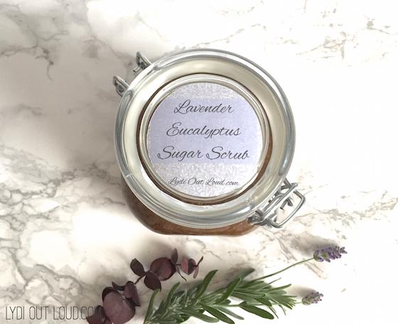 Lavender Eucalyptus Sugar Scrub