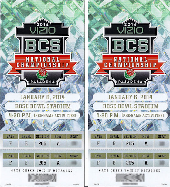 Sporting Event Tickets