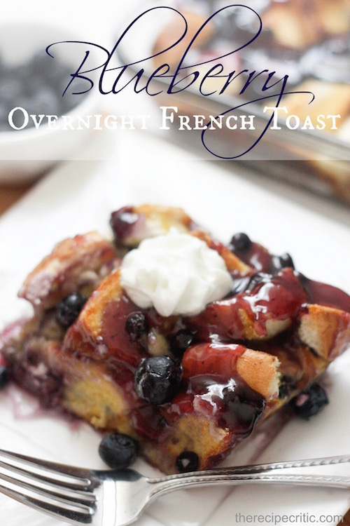 Blueberry French Toast for Brunch!