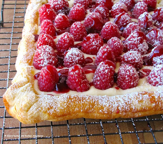Brunch recipes - Raspberry Cheese Tart
