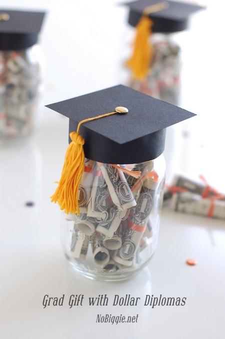 Graduation gift ideas - dollar diplomas