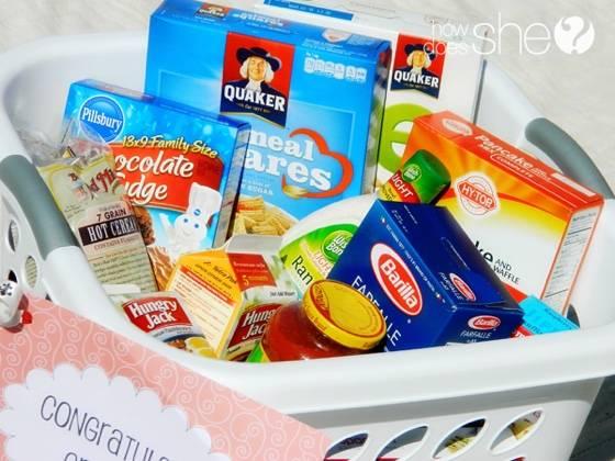 Graduation gift ideas - food supplies