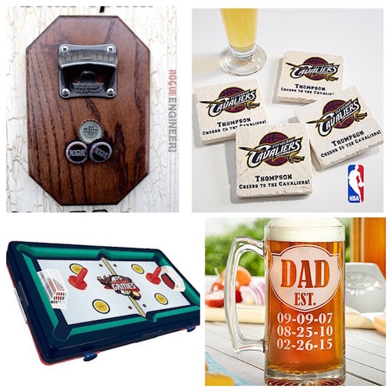 Father's Day gift ideas - for Dad's man cave