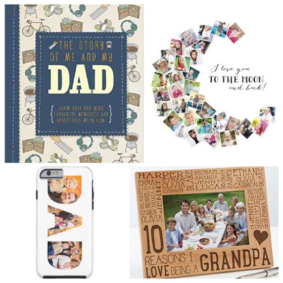 Father's Day gift ideas - sentimental gifts
