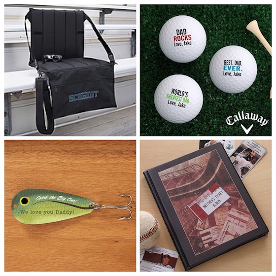 Father's Day Gift Ideas - gifts for the sporty dad