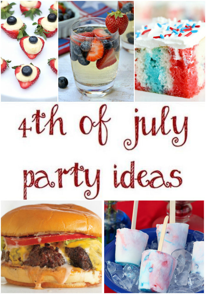 Inspiration for Hosting the Ultimate 4th of July Party! via @lydioutloud