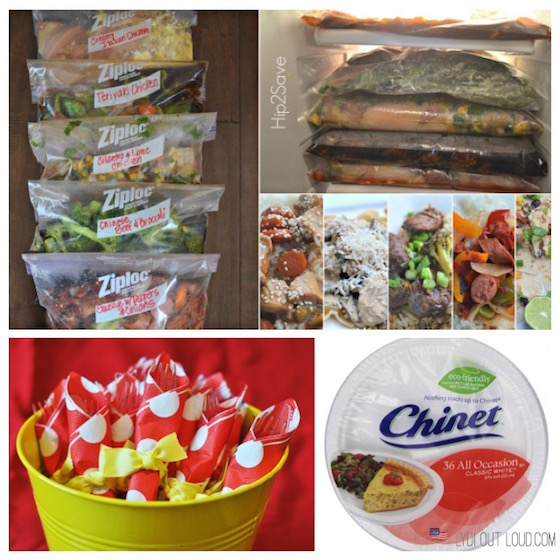 Freezer meals housewarming gift