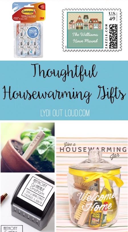 Thoughtful housewarming gift ideas via @lydioutloud