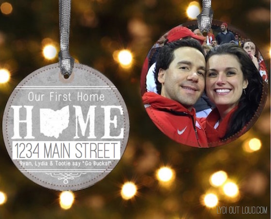 Our First Home Ornament housewarming gift idea