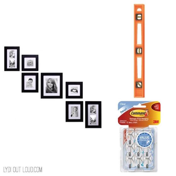 Picture hanging kit housewarming gift idea