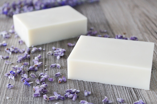 Lavender DIY Lotion Bar