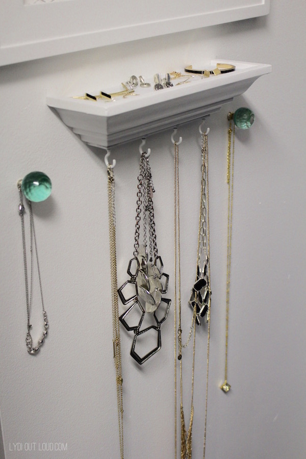 DIY Jewelry Organizer Lydi Out Loud