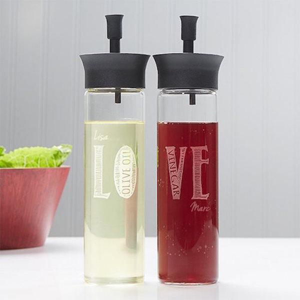 Love Oil and Vinegar bottles