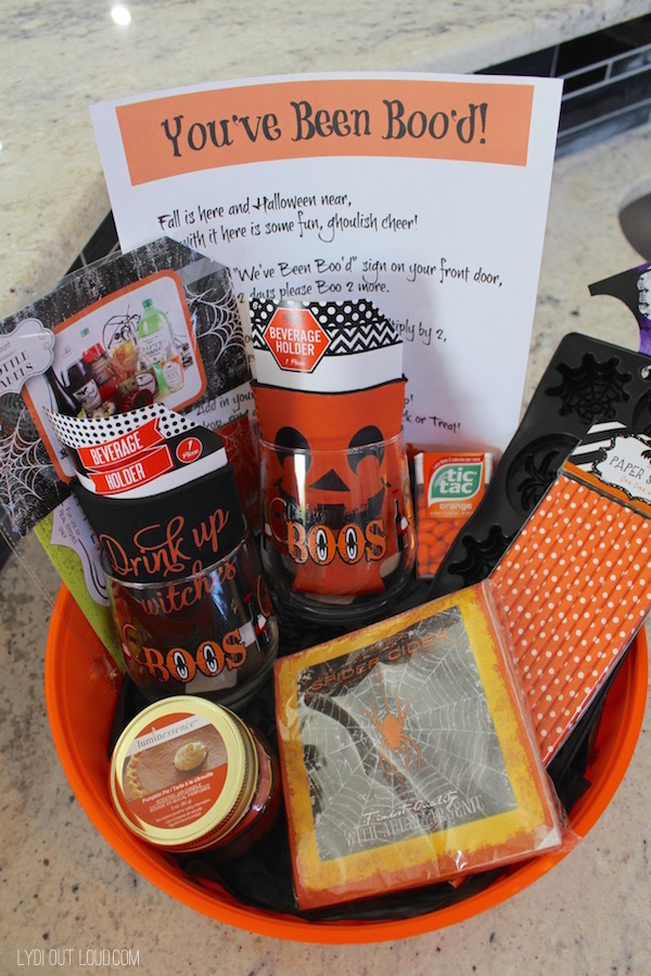 You've Been Boo'd Halloween neighbor gifts