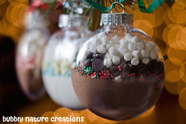DIY Hot Cocoa Mix Ornaments