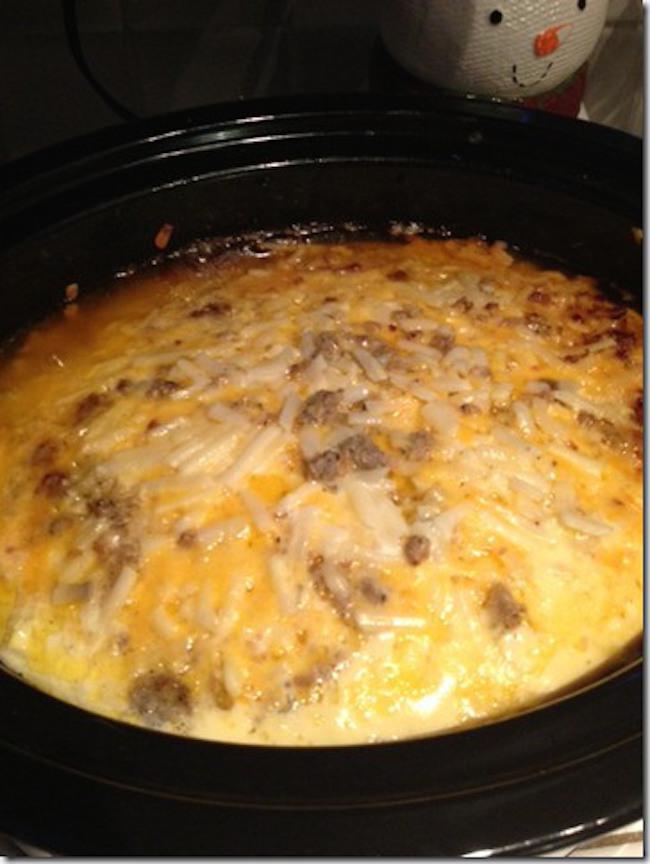Crock Pot Breakfast Scramble