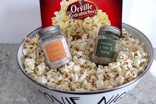 Movie night gift basket - great DIY gift idea!