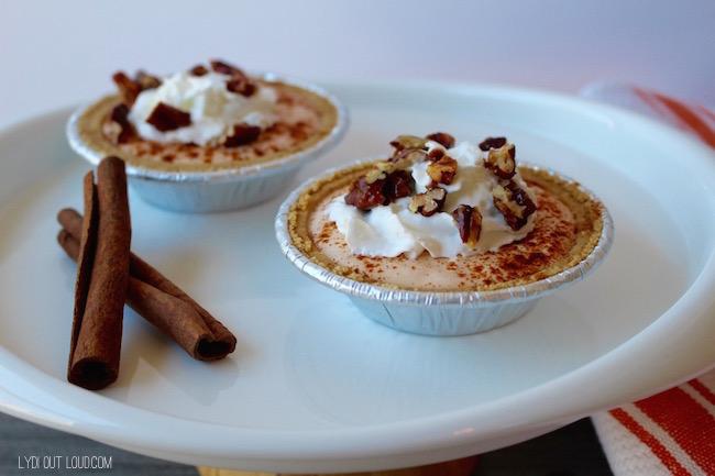 Pumpkin Pecan Pie Singles