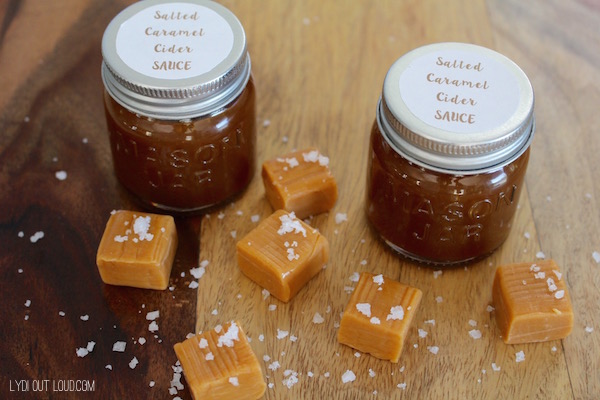 The BEST salted caramel sauce ever!