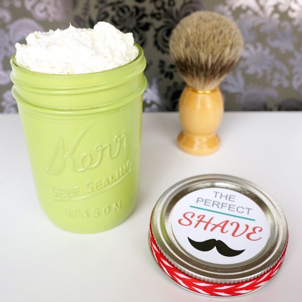 The perfect DIY shave cream