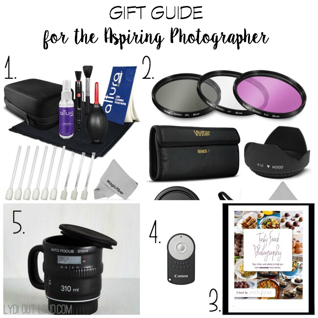 Gift Guide for the Aspiring Photographer